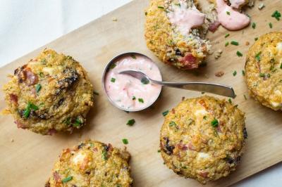 muffins quinoa